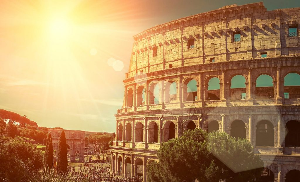 Rome - The Colosseum - One of the most popular travel place in world